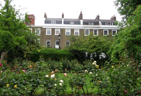 Gibson Square garden