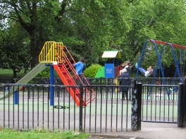 Children's playground in Thornhill Square