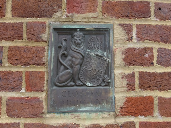 King George's Fields Heraldic Plaque