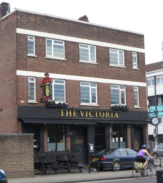 The pub at the corner of Haverfield Street