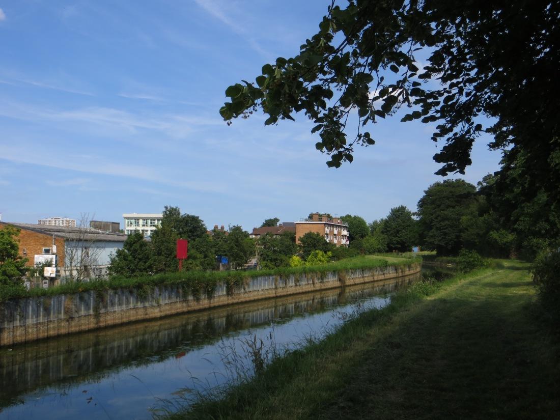The New River between Amhurst Park & Green Lanes