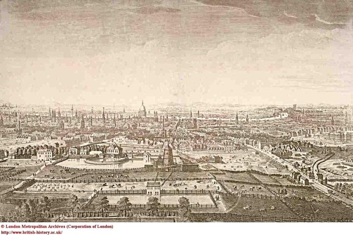 New River Head, Thomas Bowles, 1740 (British History Online)