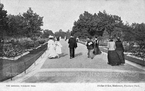 Edwardians in Finsbury Park, 1905 (Haringay Online)