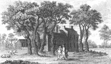 Old Hornsey Wood House in 1790s (Wikipedia)
