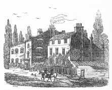 New Hornsey Wood Tavern, 1820s (Wikipedia)