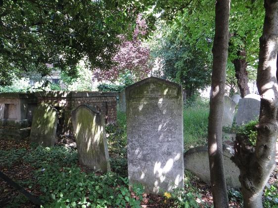The churchyard of St Mary Old Church