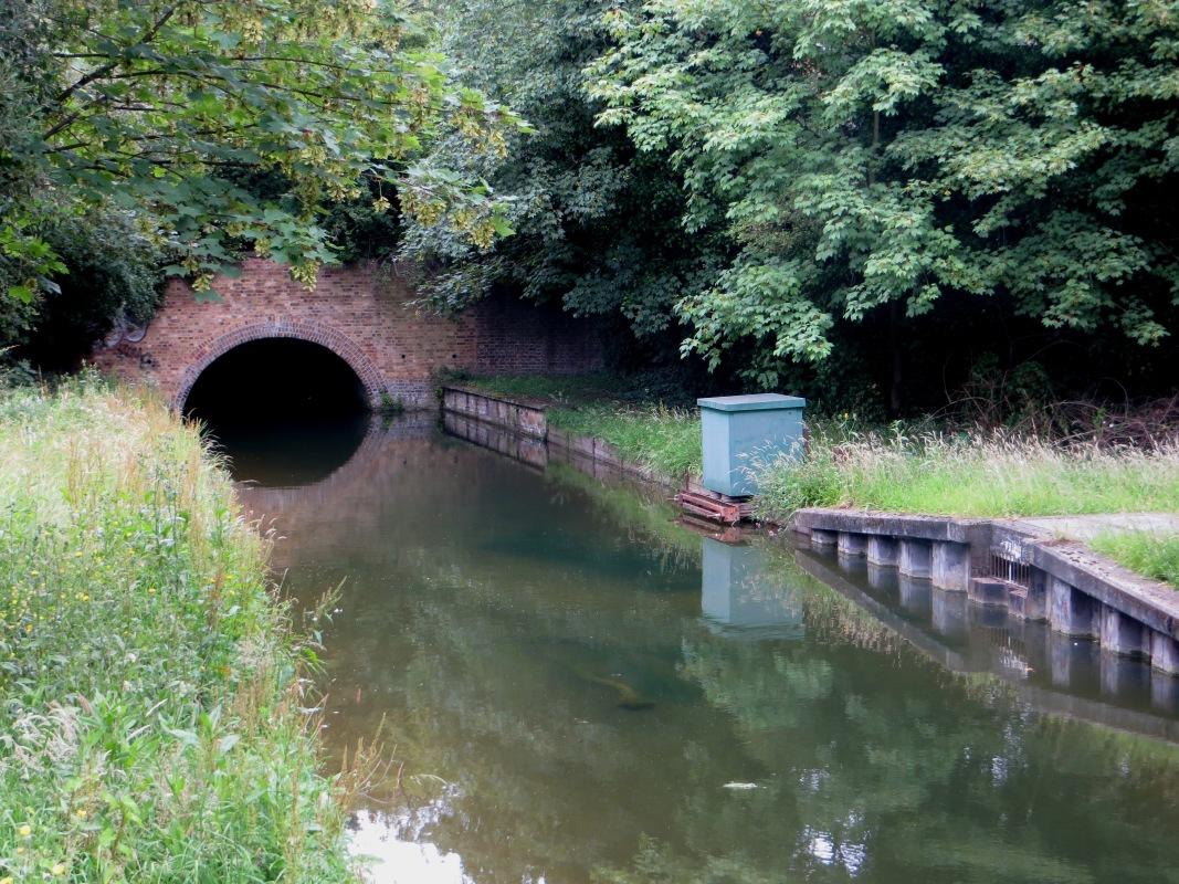 Wood Green Tunnel entrance