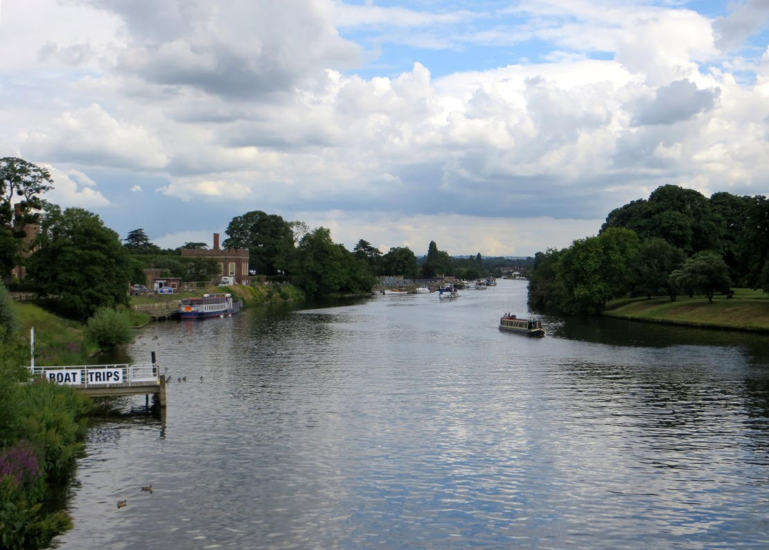 The Thames at Hampton Court