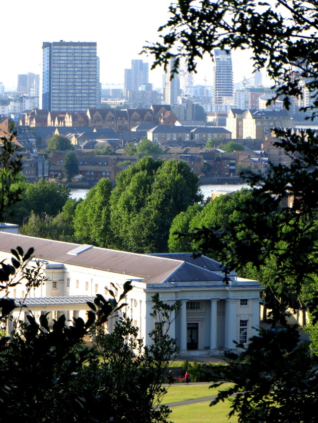 A view from Greenwich Park