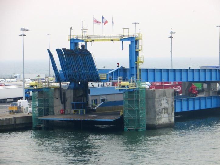 docking in France