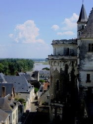 Looking upriver from the Chateau