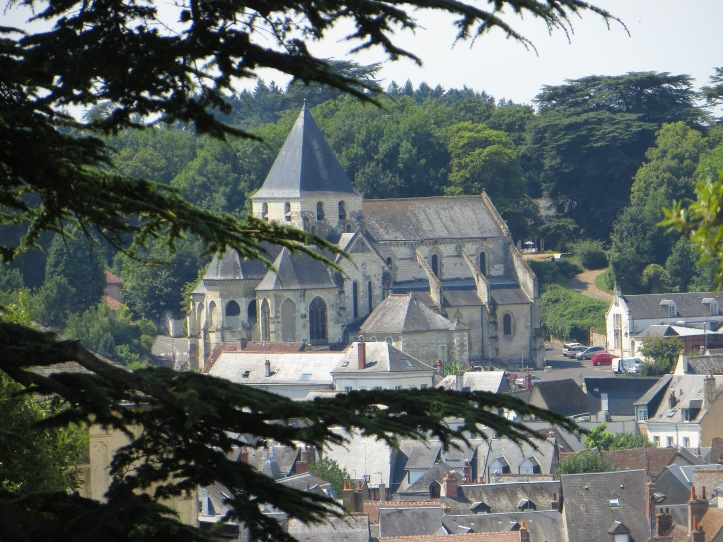 The Church of St Denis, in the town of Amboise
