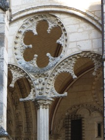 The East Door, Bourges Cathedral
