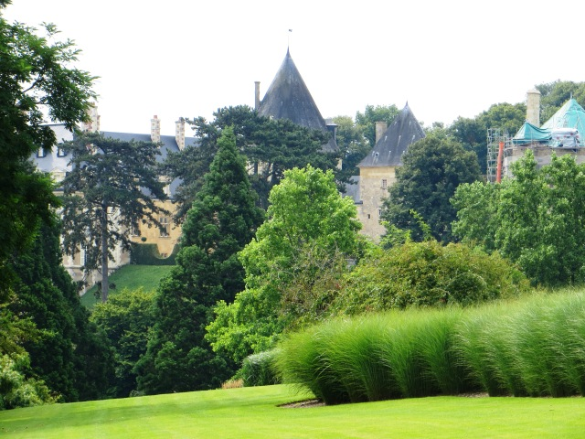The Parc Floral, looking towards the castle