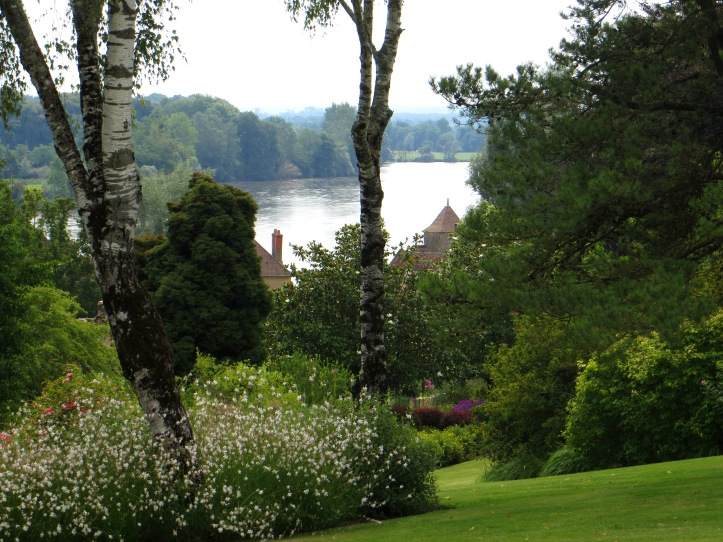 Parc Floral looking towards the Allier River