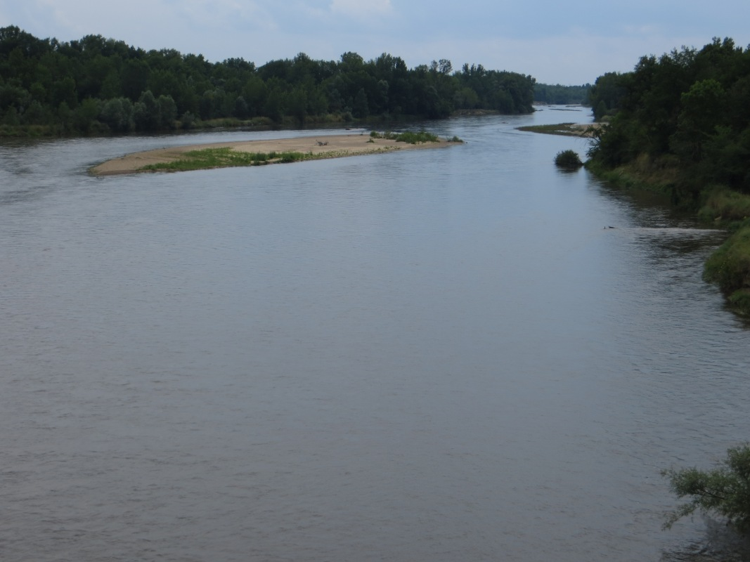 The Allier River
