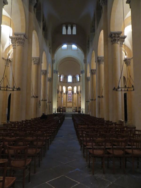 The nave, Notre Dame du Port