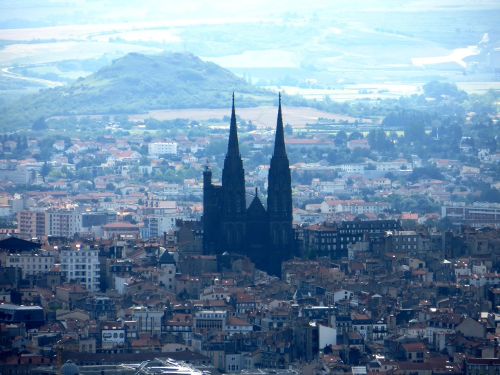 The Black Cathedral in the plain of Clermont Ferrand