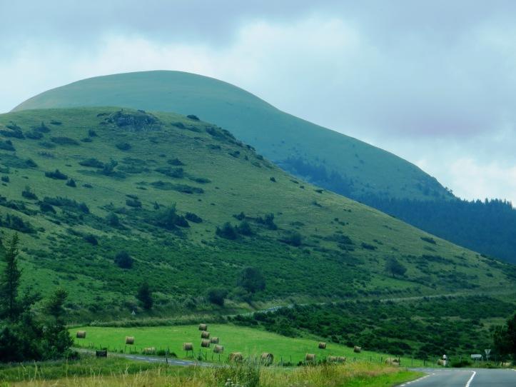 The Auvergne hills