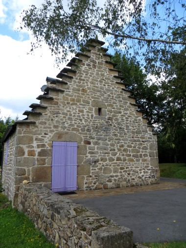 The bread oven at Neupont
