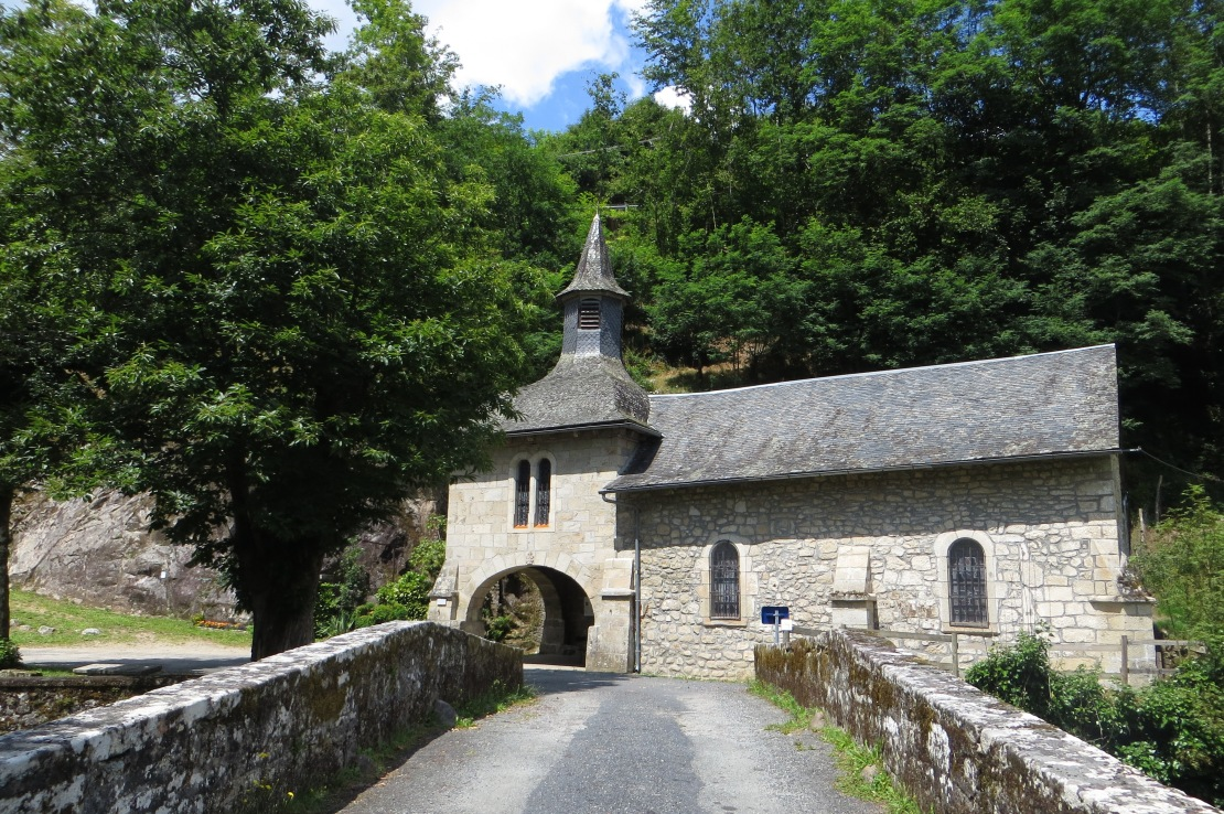The chapel of Notre Dame du Pont du Salut