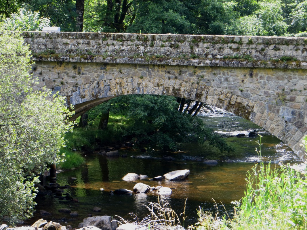 The Correze at Notre Dame du Pont du Salut
