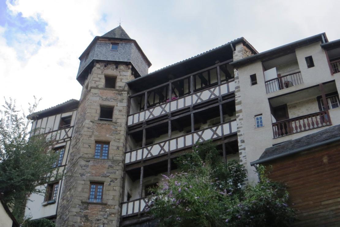 An old pilgrim hostel in Tulles