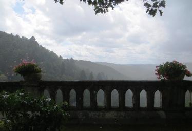 Gimel les Cascades in the rain