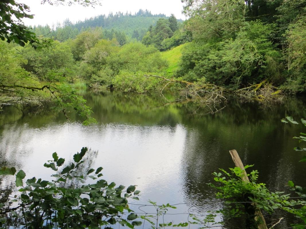 The 'lake' at Chastagnol