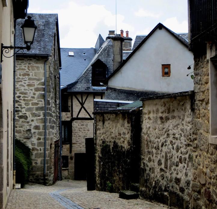 A street in Mediaeval Treignac