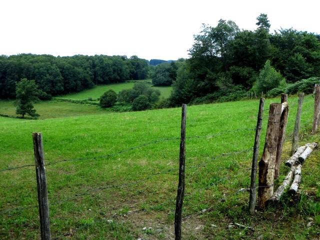 Countryside around Chauzeix