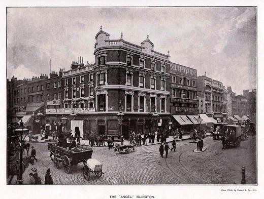 The angel Hotel & Pub, 1890
