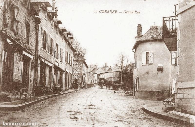 Correze, Grande Rue