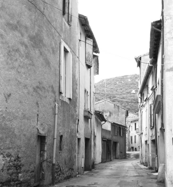 The old town, St Hippolyte du Fort