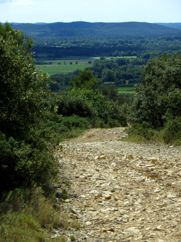 The track of the Route des Cretes