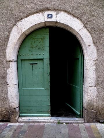 Doorway on the Grande Rue