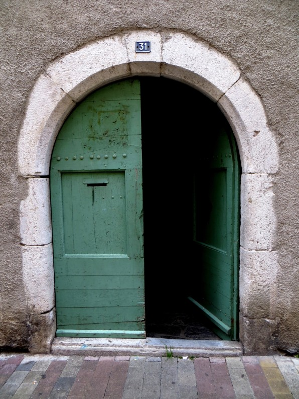 Doorway on the Grande Rue