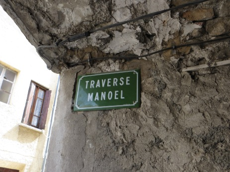 A Mediaeval corner, the Traverse Manoel