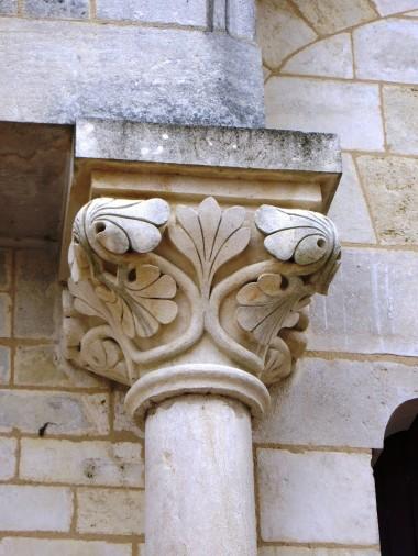 Capitals at the doorway