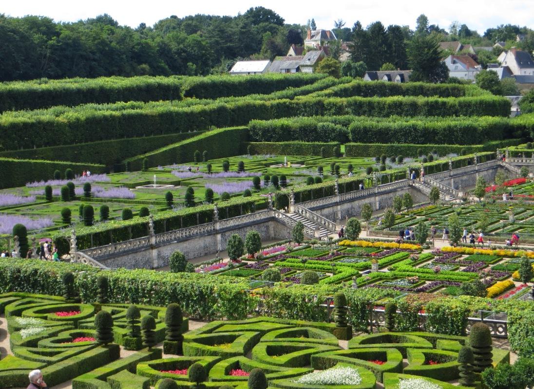 The gardens, Villandry