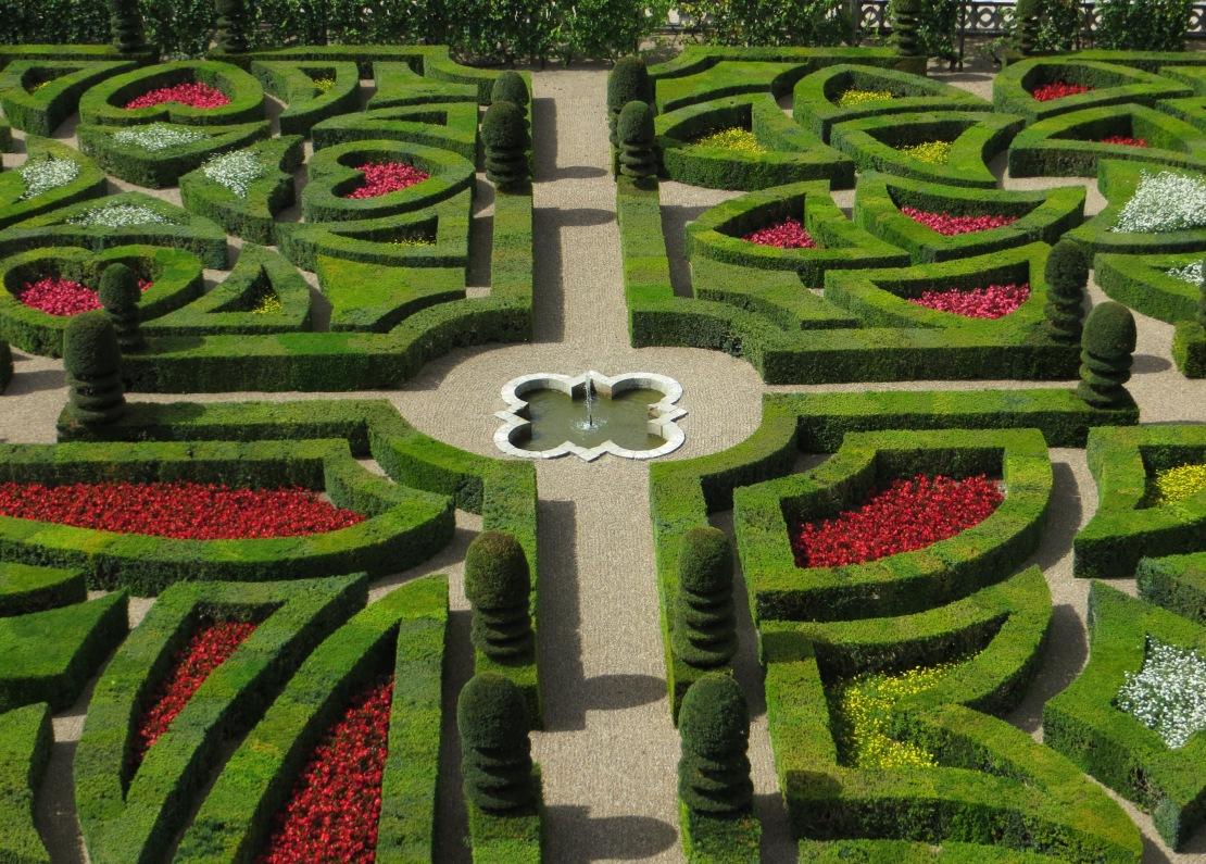 The Garden of Love, Villandry Chateau