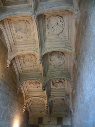The ceiling of the Grand Staircase