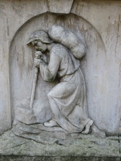 John Bunyan's tomb in Bunhill Fields burial ground