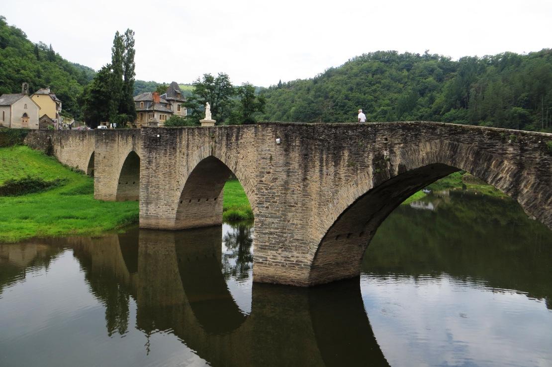 The bridge at Estaing