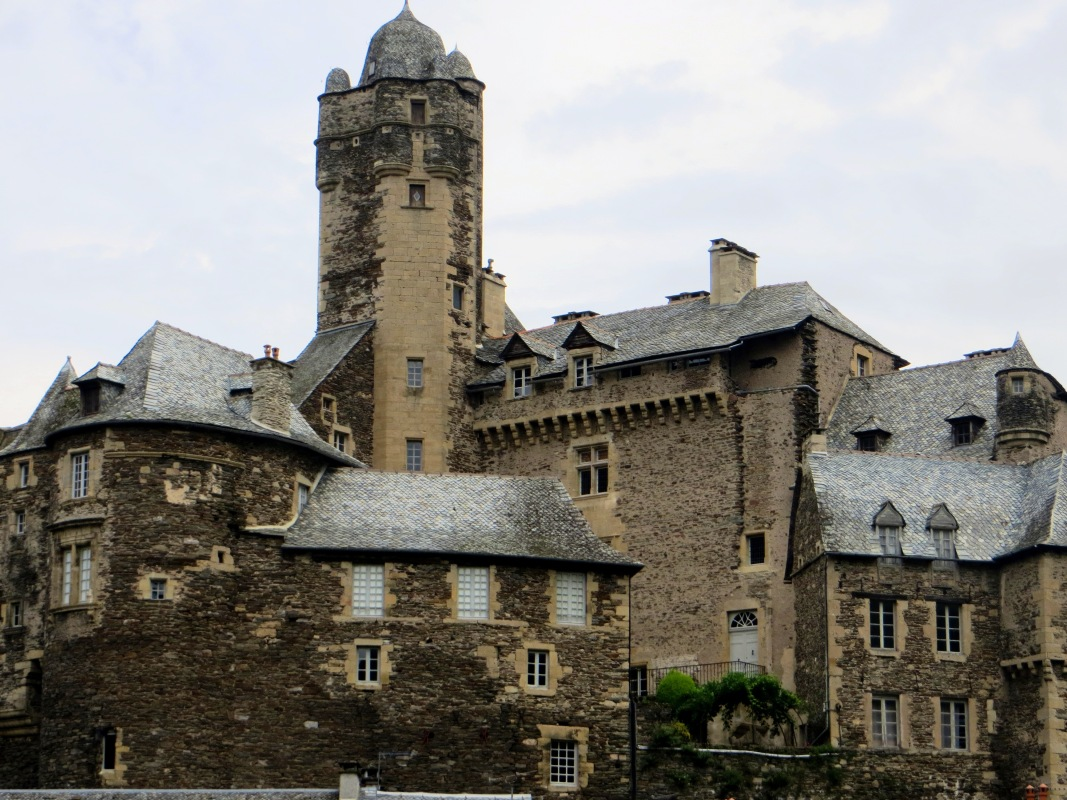 The castle at Estaing
