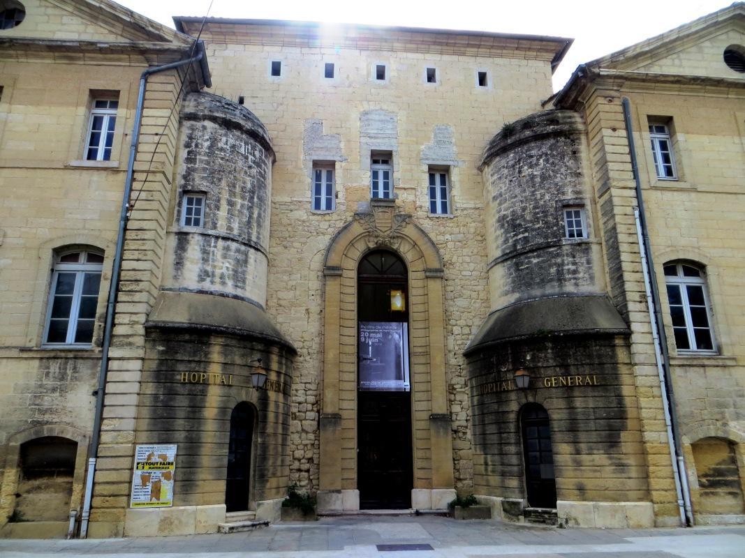 The Hospital in Uzes