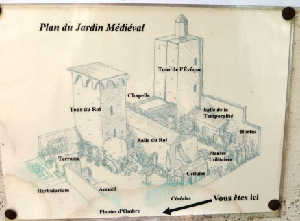 Plan of the Mediaeval Garden