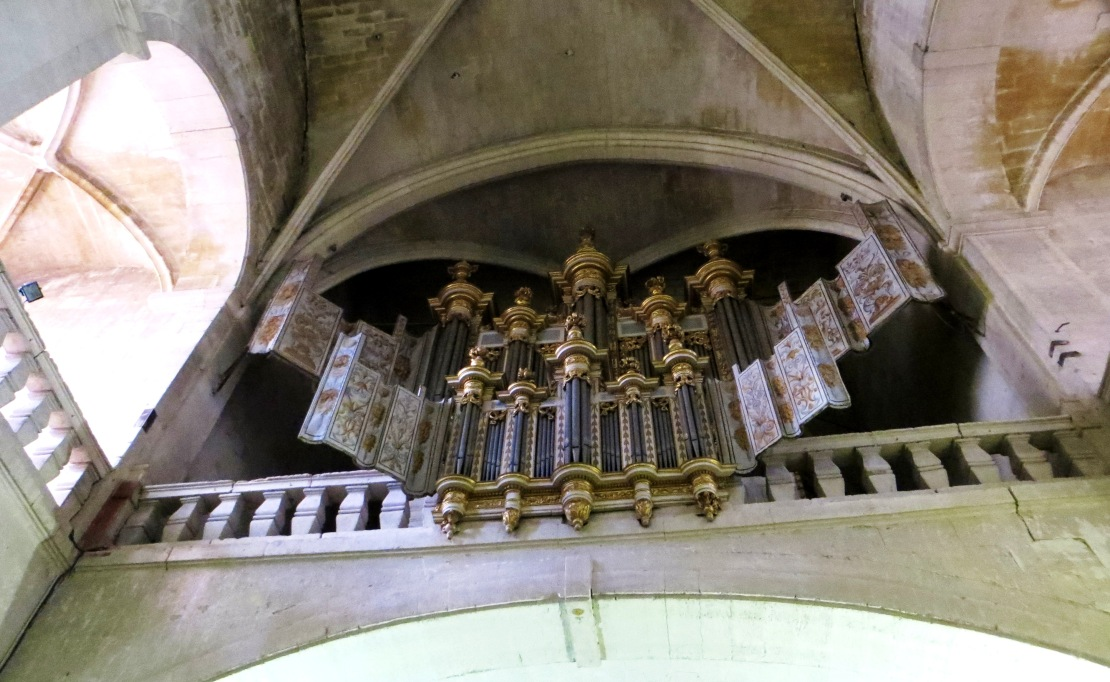 The organ, the Cathedral of St Theodorit
