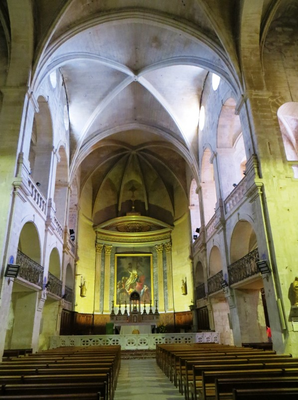 Interior of the Cathedral of St Theodorit