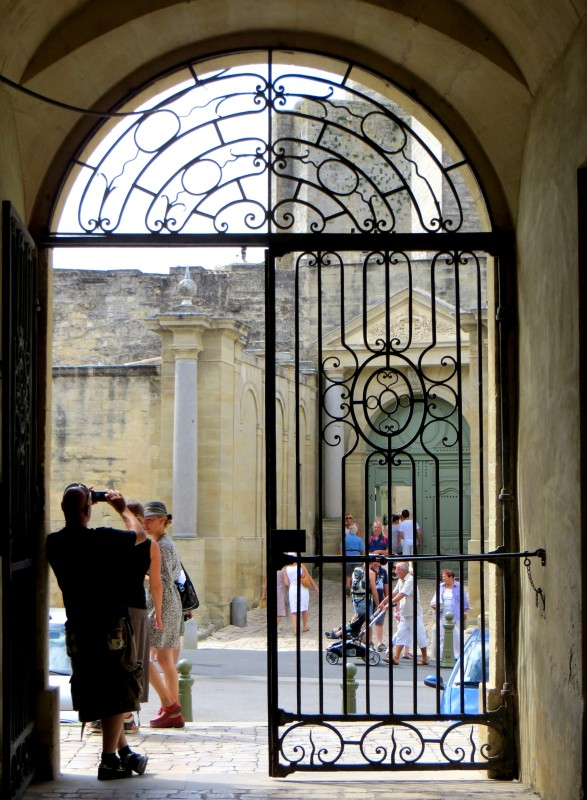 Gates of the Hotel de Ville